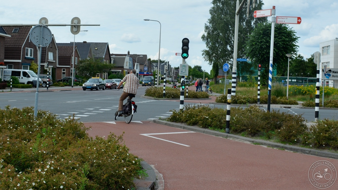 Cycling infrastructure comfort