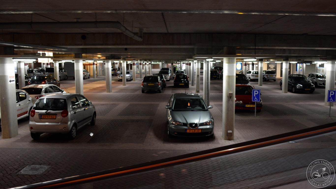Hoogeveen underground car parking Saturday