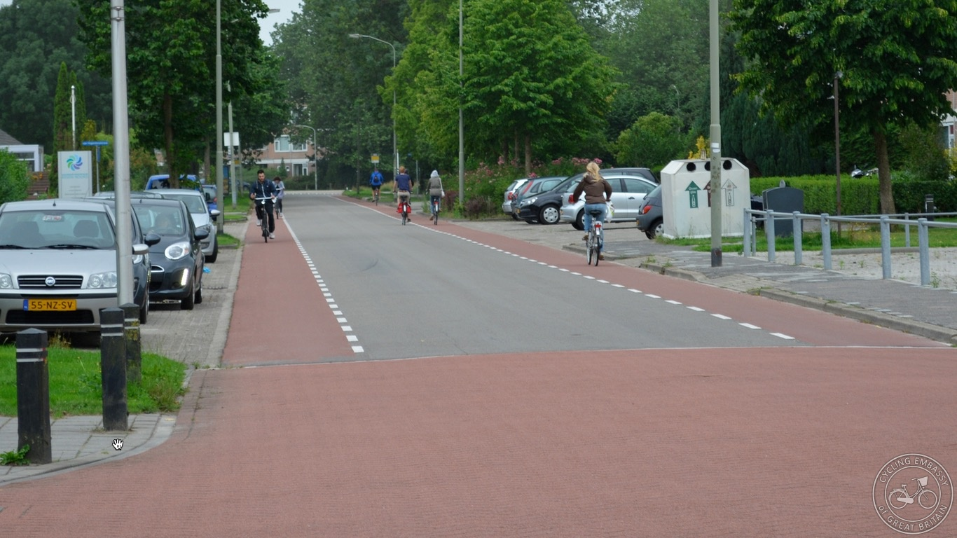 Unravelled low motor traffic route Assen