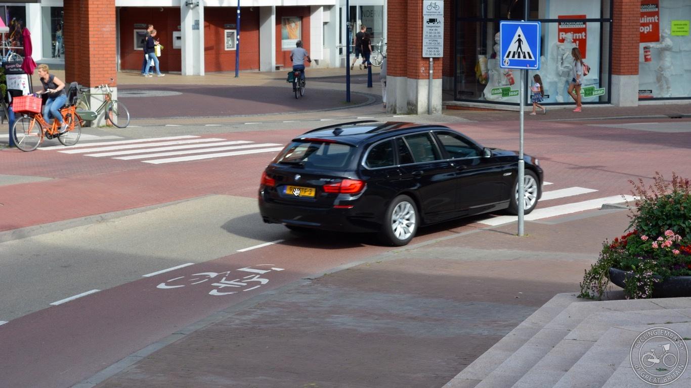 Cycle lanes Assen