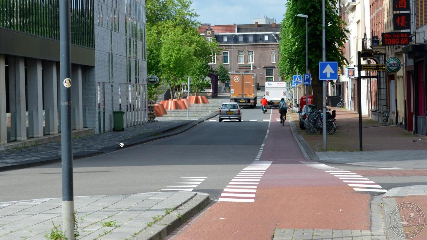 Cycle lanes Groningen