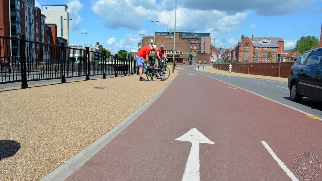 Leicester cycleway