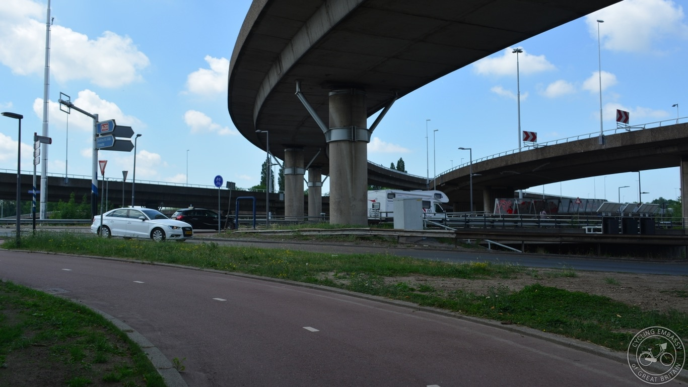 Rotterdam motorway junction
