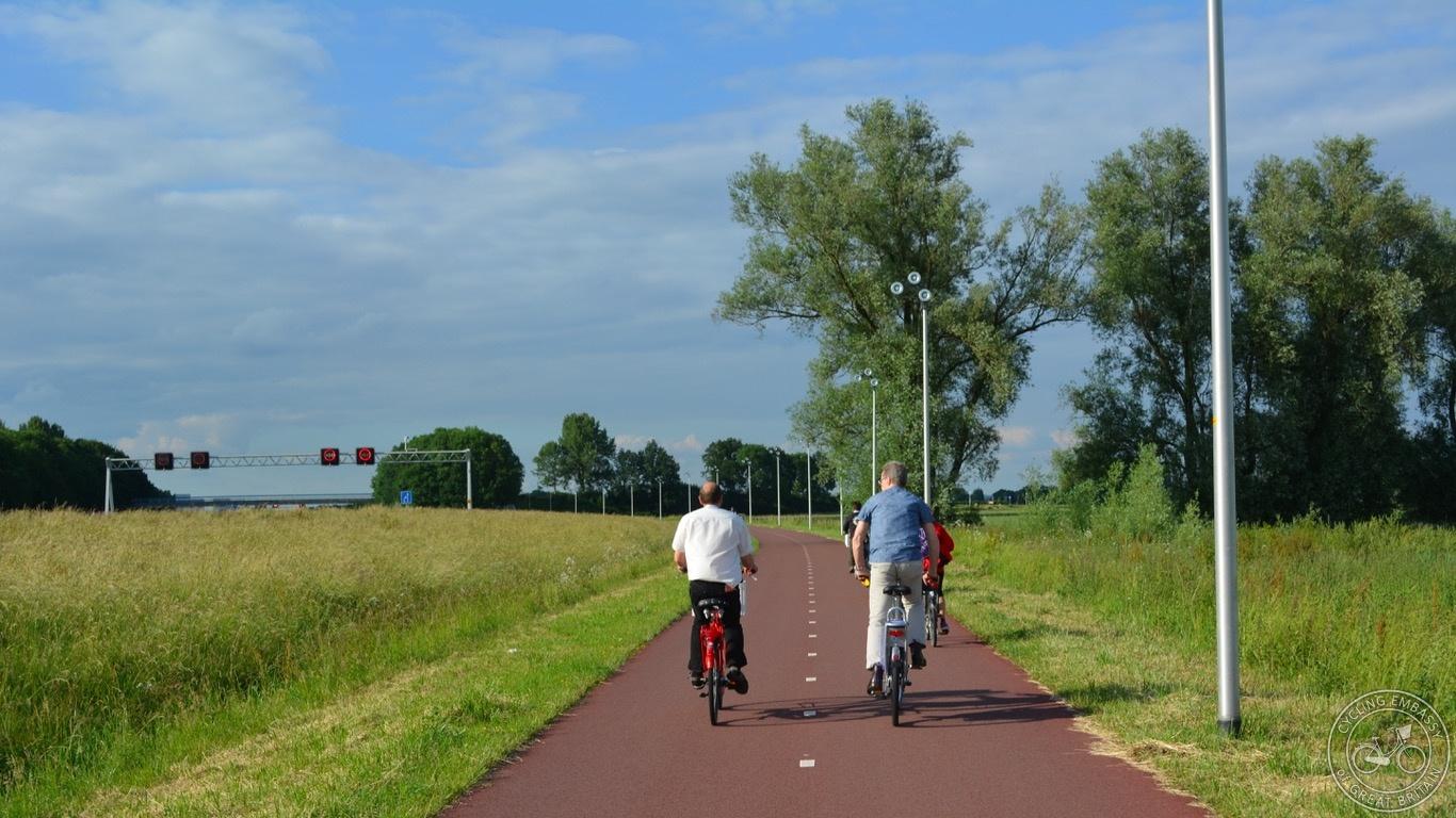 Nijmegen-Arnhem Fast Cycle Route