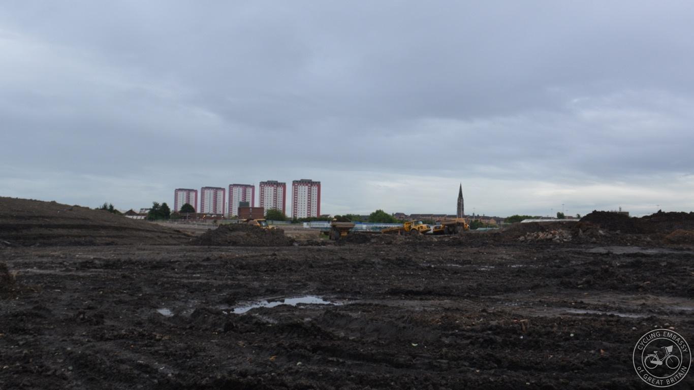 Glasgow Sighthill Park redevelopment