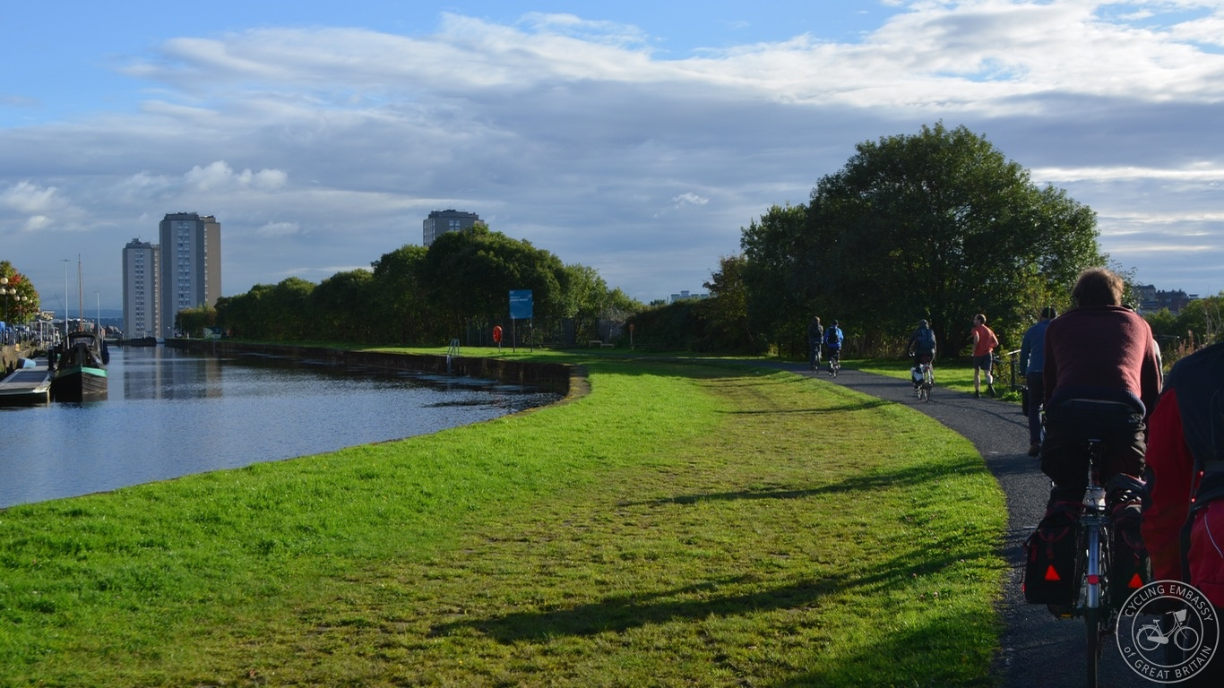 Glasgow Canal Towpath