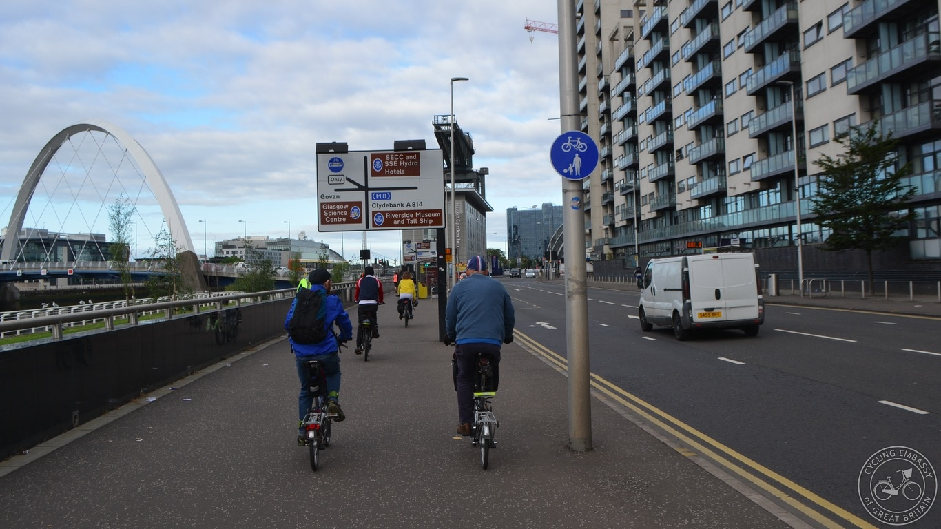 Glasgow Clyde Shared Use Footway