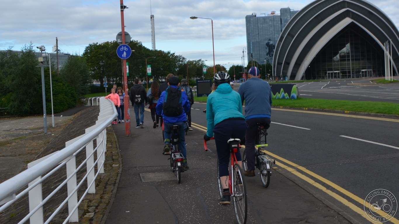Glasgow Clyde Shared Use Footway 2