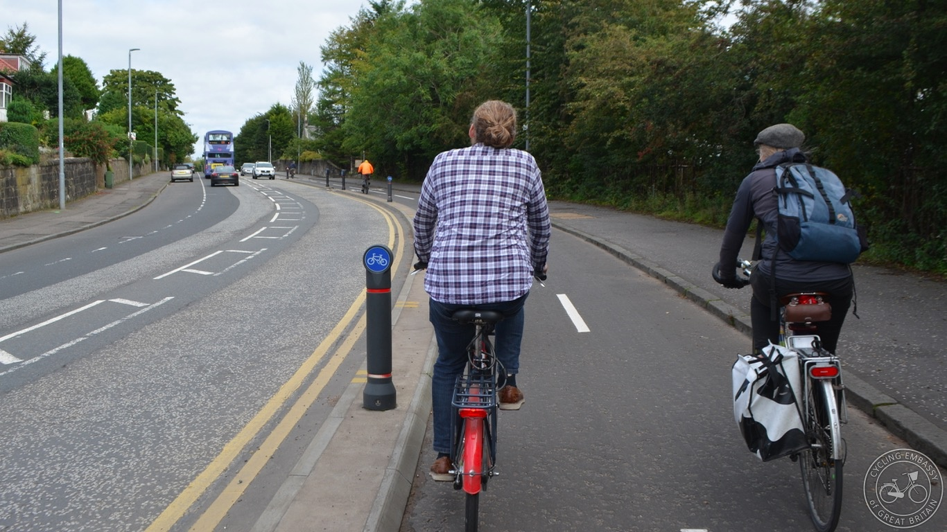 Bearsway two-way cycleway