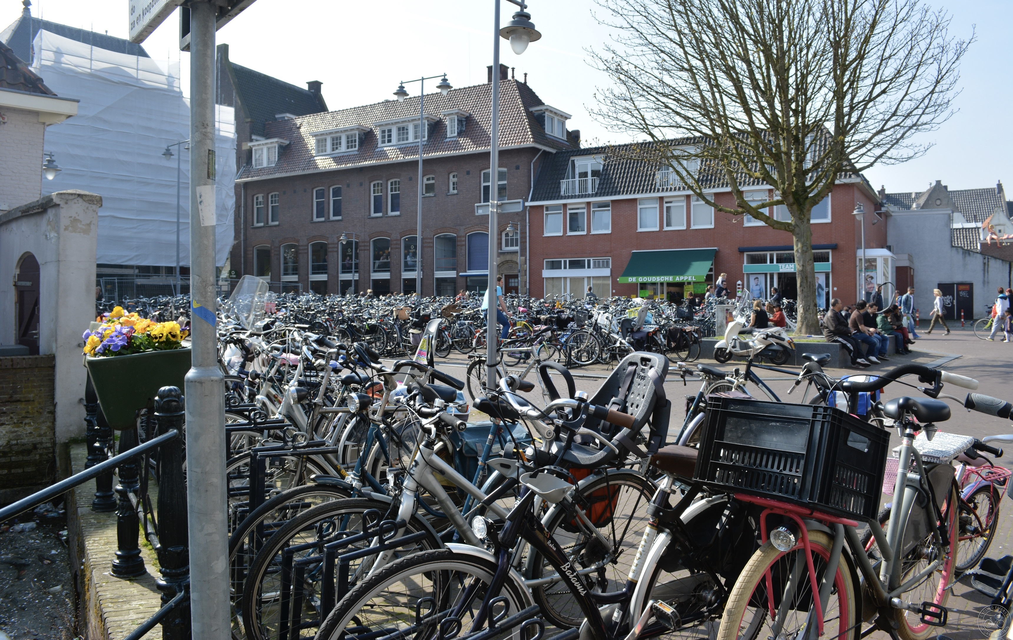 Gouda cycle parking
