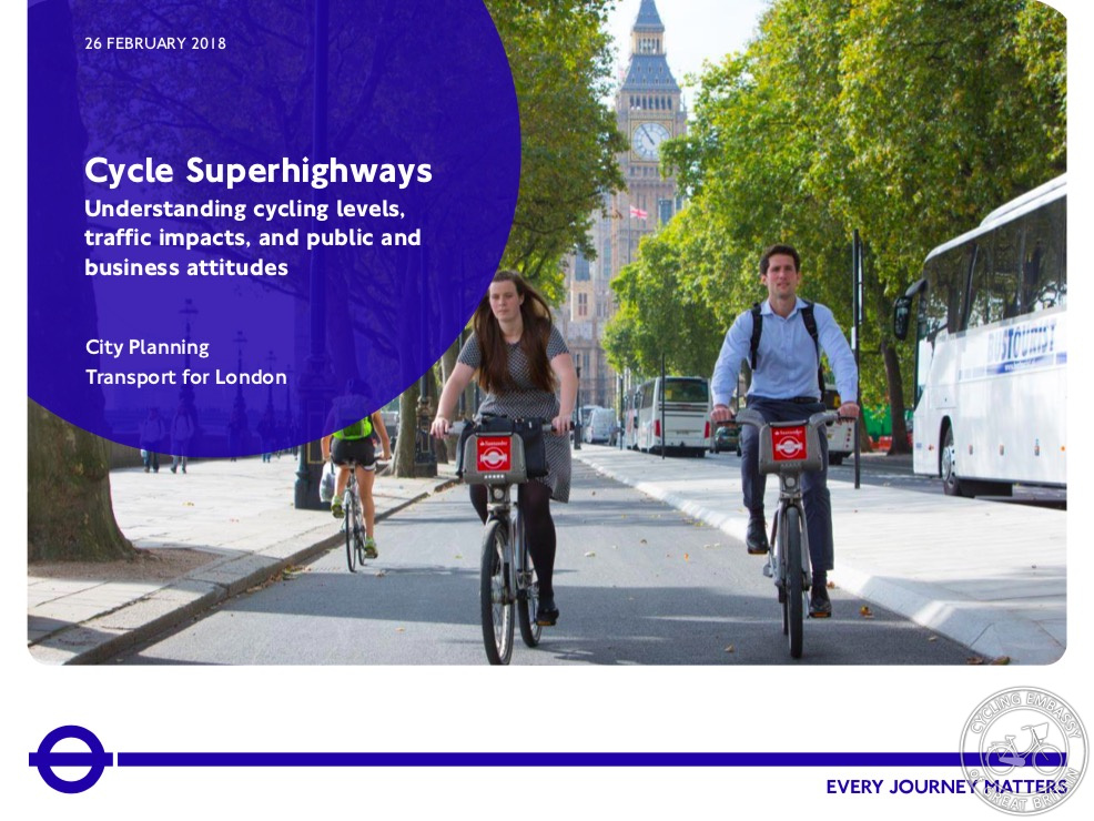 TfL Cycle Superhighways