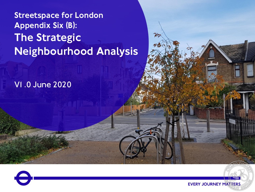 Strategic Neighbourhood Analysis
