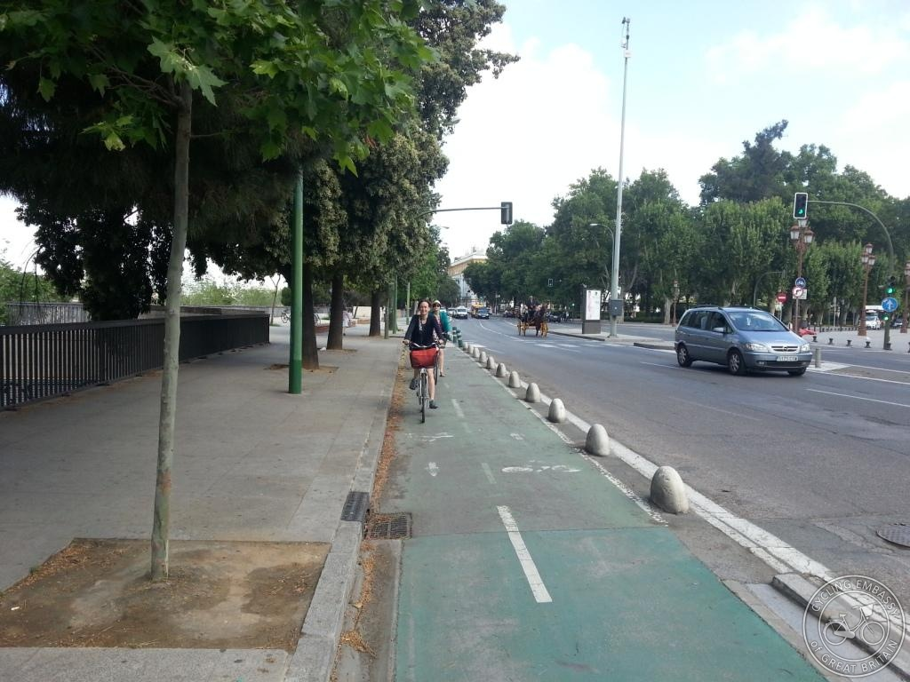 Seville cycle track
