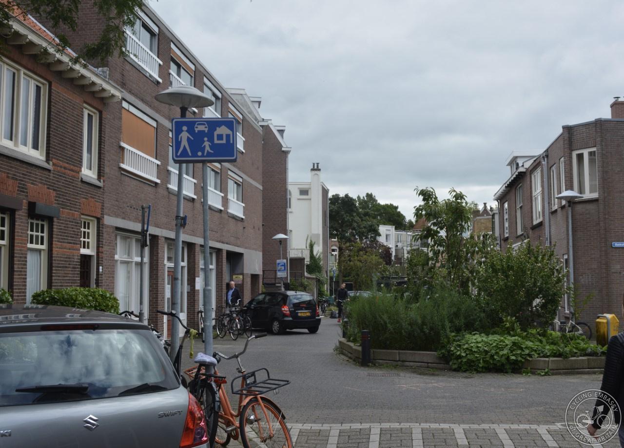 An erf or recreation area in Utrecht