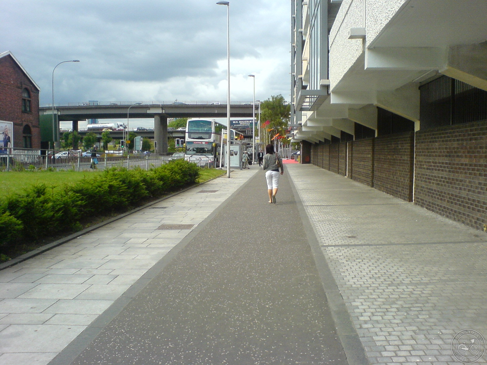 Shared use path, on Cyclestreets