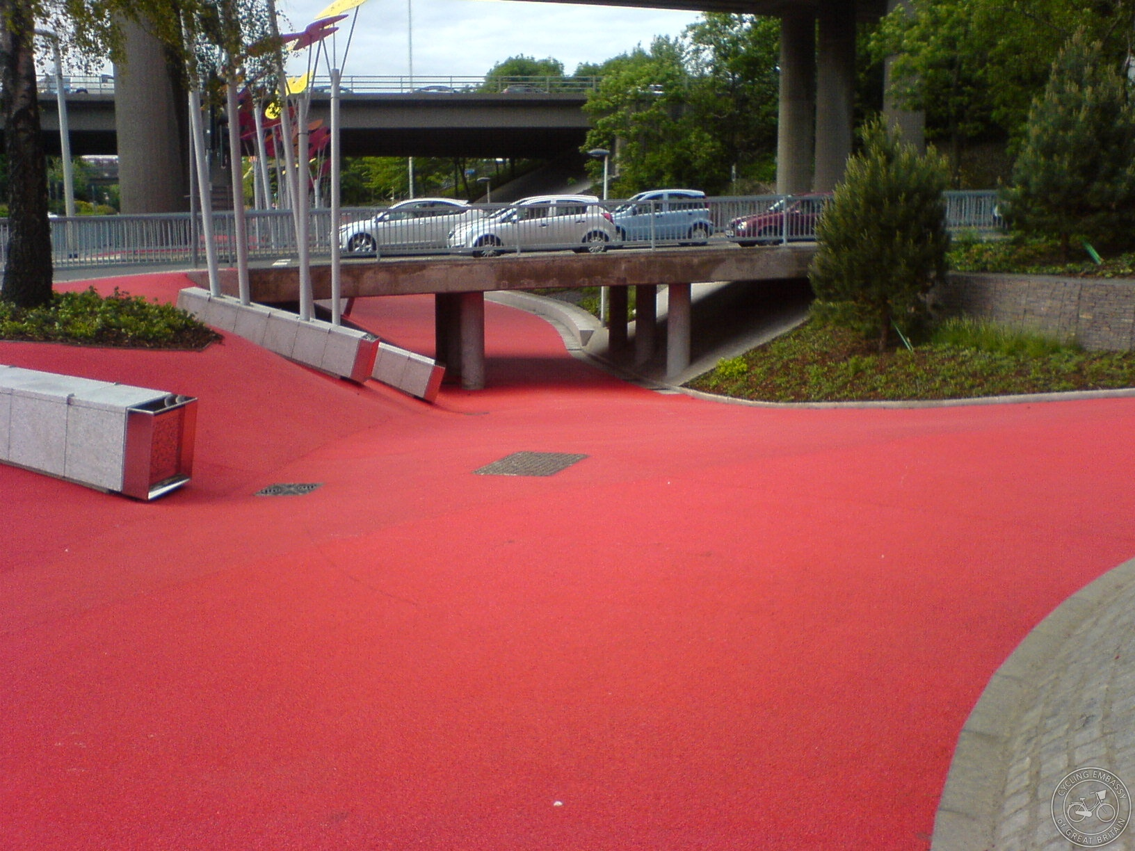 Garscube underpass on Cycle Streets