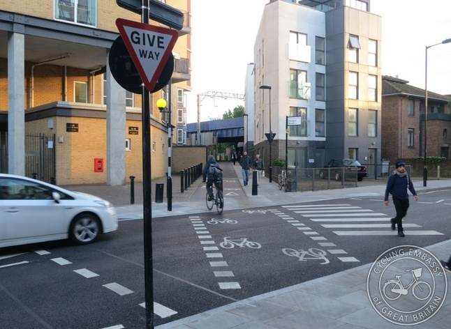 See http://lcc.org.uk/articles/first-tiger-crossing-comes-to-london-cyclists