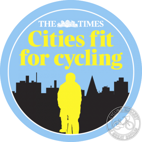 The Times - Cities Fit For Cycling logo