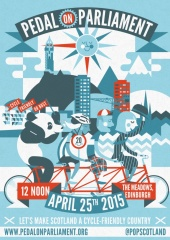 Pedal on Parliament poster