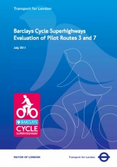 TfL Barclays Cycle Superhighways Evaluation Report