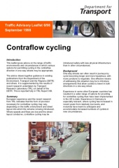 Contraflow Cycling TAL 6-98