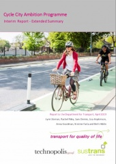 Cycle City Ambition Programme