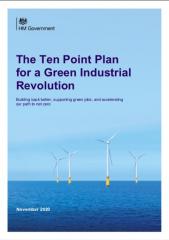 10 Point Plan Green Industrial Revolution